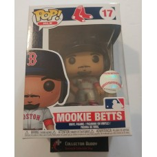 Funko Pop! MLB 17 Boston Red Sox Mookie Betts Baseball Pop Vinyl Figure FU37992