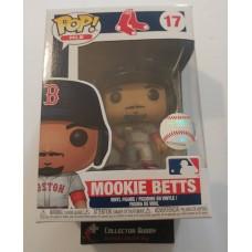 Funko Pop! MLB 17 Boston Red Sox Mookie Betts Baseball Pop Vinyl Figure FU37992