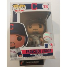 Funko Pop! MLB 18 Cleveland Indians Francisco Lindor Baseball Pop Figure FU37986