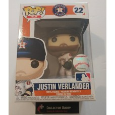 Funko Pop! MLB 22 Houston Astros Justin Verlander Baseball Pop Figure FU38666