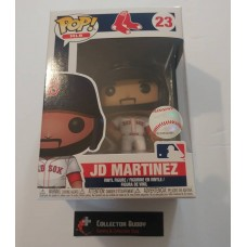 Funko Pop! MLB 23 Boston Red Sox JD Martinez Baseball Pop Figure FU38669