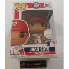 Funko Pop! MLB 25 Washington Nationals Juan Soto Baseball Pop Figure FU38670
