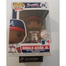 Funko Pop! MLB 26 Atlanta Braves Ronald Acuna Jr. Baseball Pop Figure FU38671