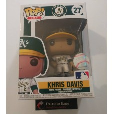 Funko Pop! MLB 27 Oakland Athletics A's Khris Davis Baseball Pop Figure FU38675