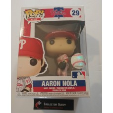 Funko Pop! MLB 29 Philadelphia Phillies Aaron Nola Baseball Pop Figure FU38678