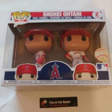 Funko Pop! MLB Shohei Ohtani Pitcher Hitter 2 Pack Pop Vinyl Figures FU34596