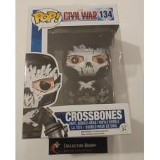 Funko Pop! Marvel 134 Captain America Civil War Crossbones Pop Vinyl Figure FU7503