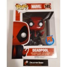 Funko Pop! Marvel 145 Deadpool PX Preview Exclusive Suit & Tie Movie Pop Vinyl FU09747