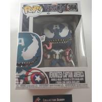Funko Pop! Marvel 364 Venom Venomized Captain America Pop Vinyl Figure FU32686
