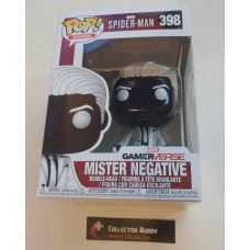 Funko Pop! Games 398 Mister Negative Mr. Spider-Man Gamerverse Spider Man Pop Marvel FU30679