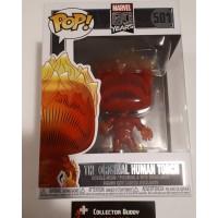 Funko Pop! Marvel 501 Marvel 80 Years The Original Human Torch Pop Figure FU42653