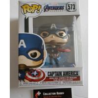 Funko Pop! Marvel 573 Avengers Endgame Captain America Broken Shield Pop FU45137