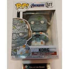 Damaged Box Funko Pop! Marvel 577 Avengers Endgame Korg Gamer Pop Vinyl Figure FU45140