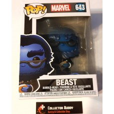 Funko Pop! Marvel 643 X-Men Beast 20th Anniversary Pop Bobble Head FU49289