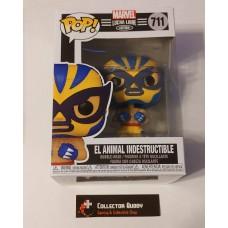 Funko Pop! Marvel 711 Lucha Libre El Animal Indestructible Wolverine Pop Vinyl FU53873