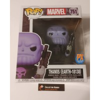 "Funko Pop! Marvel 751 Thanos Earth-18138 Supersize 6"" PX Preview Pop Vinyl FU53696"