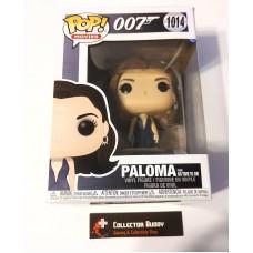Damaged Box Funko Pop! Movies 1014 James Bond 007 Paloma No time to Die Pop Vinyl Figure FU50159