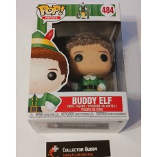 Damaged Box Funko Pop! Movies 484 Elf Buddy Elf Pop Vinyl Figure FU21380