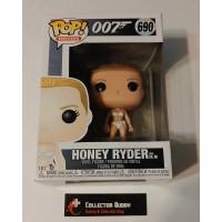 Funko Pop! Movies 690 James Bond 007 Honey Ryder from Dr. No Pop Vinyl Figure FU35683