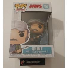 Damaged Box Funko Pop! Movies 757 Jaws Quint Pop Vinyl Figure FU38564