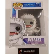 Damaged Box Funko Pop! Movies 817 Abominable Everest Pop Vinyl Figure FU43338