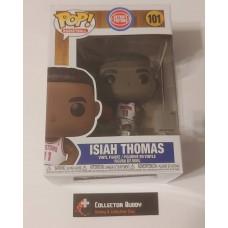Funko Pop! Basketball 101 Isiah Thomas Detroit Pistons NBA HWC Hardwood Pop FU47910