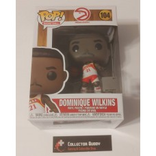 Funko Pop! Basketball 104 Dominique Wilkins Atlanta Hawks NBA HWC Hardwood Pop FU55217