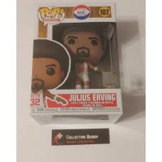 Funko Pop! Basketball 107 Julius Erving New Jersey Nets NBA HWC Hardwood Pop FU55220