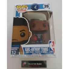 Funko Pop! Basketball 39 Karl Anthony Towns Minnesota Timberwolves NBA Pop Vinyl FU34453