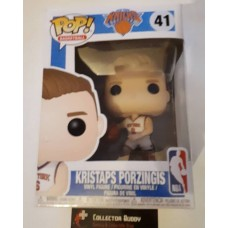 Funko Pop! Basketball 41 Kristraps Porzingis New York Knicks NBA Pop Vinyl FU34451