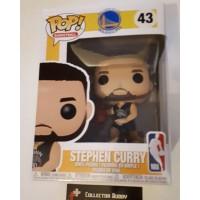 Funko Pop! Basketball 43 Stephen Curry Golden State Warriors NBA Pop Vinyl FU34449