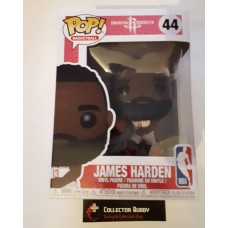 Damaged Box Funko Pop! Basketball 44 James Harden Houston Rockets NBA Pop Vinyl FU34448