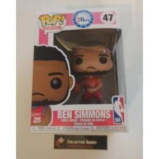 Funko Pop! Basketball 47 Ben Simmons Philadelphia 76ers NBA Pop Vinyl FU34432