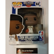 Funko Pop! Basketball 62 Zion Williamson New Orleans Pelicans NBA Pop Vinyl FU44279