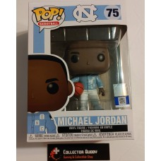 Funko Pop! Basketball 75 UNC Michael Jordan Warm Up Jersey Pop Vinyl FU46803