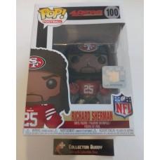 Funko Pop! Football 100 Richard Sherman San Francisco 49ers  NFL Pop Vinyl  FU31760