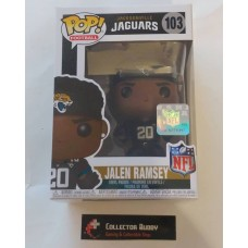Funko Pop! Football 103 Jalen Ramsey Jacksonville Jaguars NFL Pop Vinyl Figure FU31766
