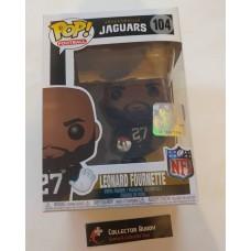 Funko Pop! Football 104 Leonard Fournette Jacksonville Jaguars NFL Pop Figure FU31769