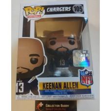 Funko Pop! Football 105 Keenan Allen San Diego Chargers NFL Pop Vinyl Figure FU31771