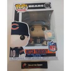 Funko Pop! Football 106 Mitch Trubisky Chicago Bears NFL Pop Vinyl Figure FU31776