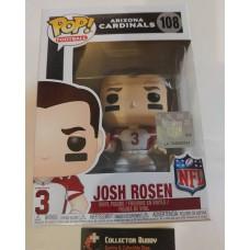 Funko Pop! Football 108 Josh Rosen Arizona Cardinals NFL Pop Vinyl Figure FU31778