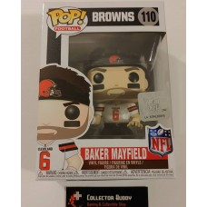 Funko Pop! Football 110 Cleveland Browns Baker Mayfield NFL Pop Vinyl Figure FU31780