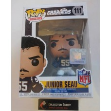 Funko Pop! NFL 111 Legends Junior Seau San Diego Chargers Pop Vinyl Figure FU33295