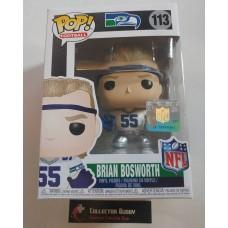 Funko Pop! NFL 113 Legends Brian Bosworth Seattle Seahawks Pop Figure FU33306