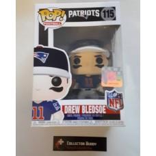 Funko Pop! Football 115 Drew Bledsoe New England Patriots NFL Legends Pop Vinyl FU33308