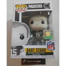 Funko Pop! NFL 116 Legends Bart Starr Black & White Green Bay Packers Pop Figure FU33400