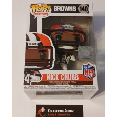 Funko Pop! Football 140 Nick Chubb Cleveland Browns NFL Pop Vinyl Figure FU50099