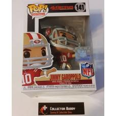 Funko Pop! Football 141 Jimmy Garoppolo San Francisco 49ers NFL Pop Vinyl FU50100