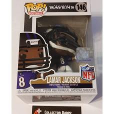Funko Pop! Football 146 Lamar Jackson Baltimore Ravens NFL Pop Vinyl Figure FU50976