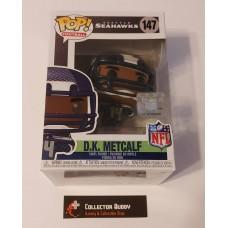 Funko Pop! Football 147 DK Metcalf Seattle Seahawks NFL Pop Vinyl Figure FU50977